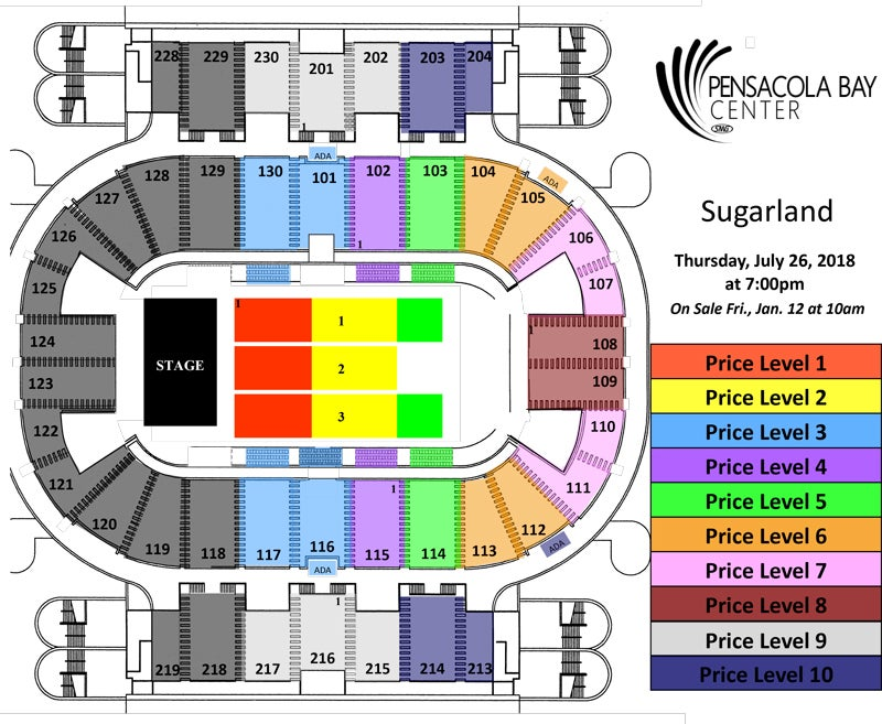 Availability Tickets Now Seating Chart View