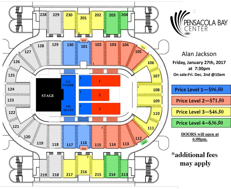 Pensacola Bay Center Seating Chart Brokeasshome Com